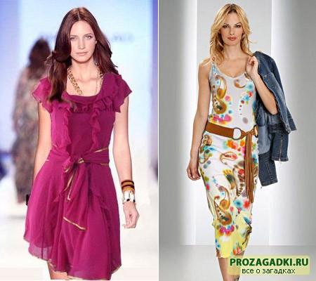 платья из шифона 2011
