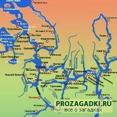 Кроссворд реки России: познавательная география