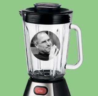 Стив Джобс в блендере
